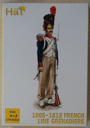 HaT 1/72 HAT8166 French Line Grenadiers (Napoleonic)